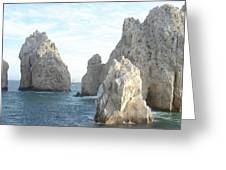 Sailing In Los Cabos Greeting Card