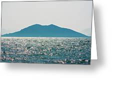 Sailing In The Distance Greeting Card