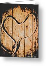 Sailing Love With No Strings Attached Greeting Card