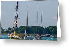 Sailing North Greeting Card