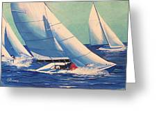 Sailing Regatta Greeting Card