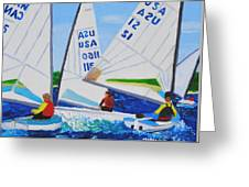 Sailing Regatta Greeting Card