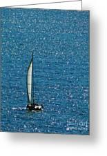 Sailing Solo Greeting Card