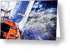 Sailing Souls Greeting Card