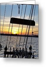 Sailing Summers Greeting Card