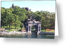 Sailing The Thousand Islands Canada Greeting Card