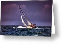 Sailing To Nantucket 001 Greeting Card