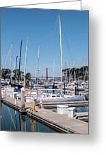 Sailing To The Golden Gate Greeting Card