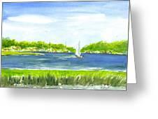 Sailing Wexford Greeting Card