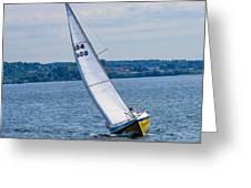 Sailor Coming Home Greeting Card