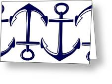 Sailors Anchor Greeting Card