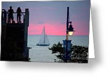 Sailors De Light  Greeting Card