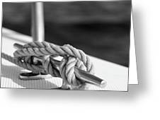 Sailor's Knot Square Greeting Card