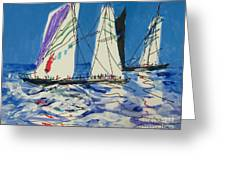 Sails IIi Greeting Card