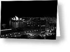 Sails In The Night Greeting Card
