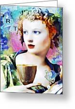 Saint Cecilia Risen Greeting Card