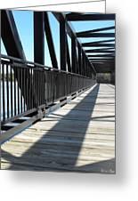 Saint Charles Walking Bridge Greeting Card