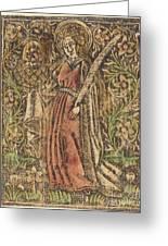 Saint Dorothy Greeting Card