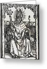 Saint Erasmus Greeting Card