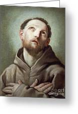 Saint Francis  Greeting Card
