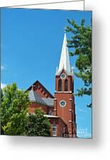 Saint George Church Greeting Card