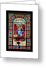 Saint Greeting Card