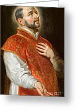 Saint Ignatius Greeting Card