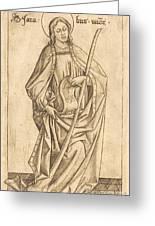 Saint James The Less Greeting Card