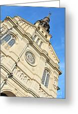 Saint Jean Baptiste Church In Quebec City Greeting Card