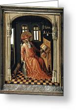 Saint Jerome (340-420) Greeting Card