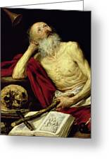 Saint Jerome Greeting Card