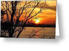 Saint Johns River Sunset  Greeting Card