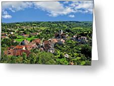 Saint-laurent Landscape Greeting Card