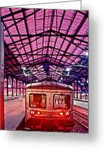 Saint Lazare Station Greeting Card