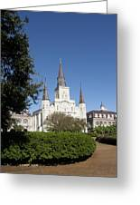Saint Louis Cathederal 2 Greeting Card