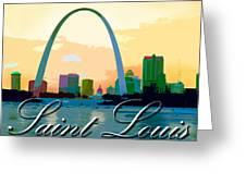 Saint Louis Greeting Card
