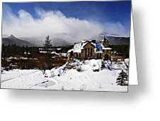 Saint Malo Church Colorado Greeting Card