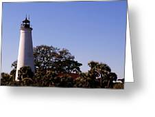 Saint Marks Light House Greeting Card