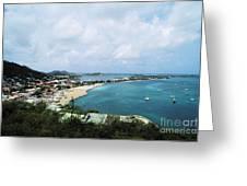 Saint Martin Coast Greeting Card