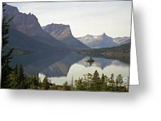 Saint Marys Lake Greeting Card