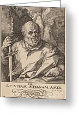 Saint Matthias Greeting Card