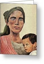 Saint Mother Greeting Card