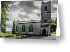 Saint Patricks Church On The Hill Of Tara Greeting Card
