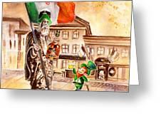 Saint Patricks Pub Greeting Card