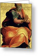 Saint Paul The Apostle Greeting Card by Marco Pino