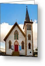 Saint Paul's Episcopal Church Verginia City Nevada Greeting Card