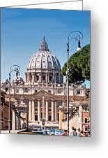 Saint Peter's Tomb Greeting Card