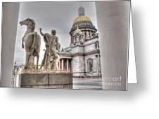 Saint-petersburg Russia Greeting Card