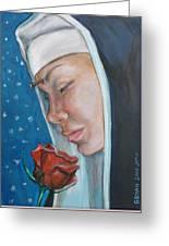 Saint Rita Of Cascia Greeting Card