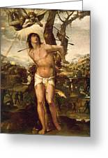 Saint Sebastian Greeting Card